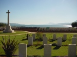 Suda Bay cemetery where the Kiwi soldiers lie